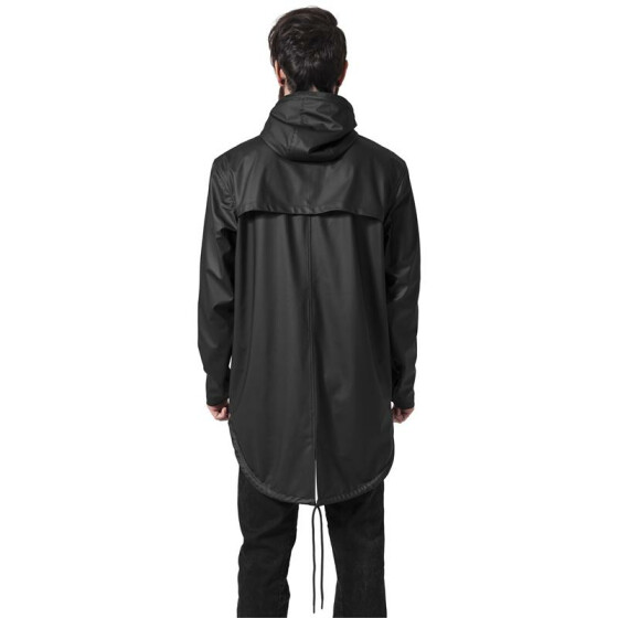 Urban Classics Raincoat, black