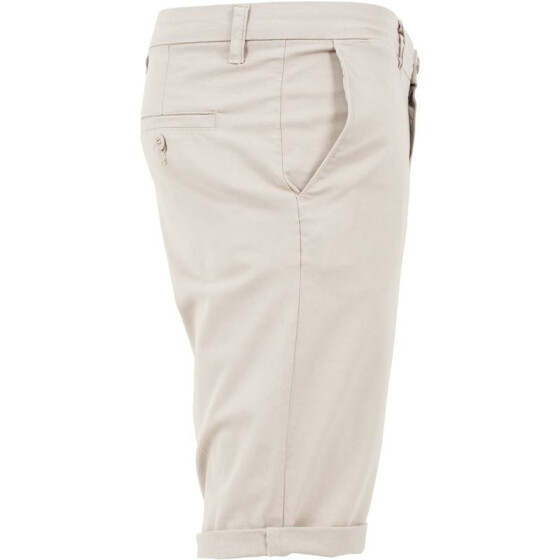 Urban Classics Stretch Turnup Chino Shorts, sand