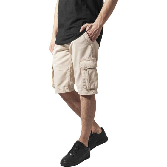 Urban Classics Fitted Cargo Shorts, beige