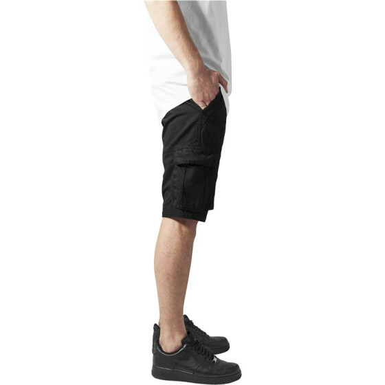 Urban Classics Fitted Cargo Shorts, black