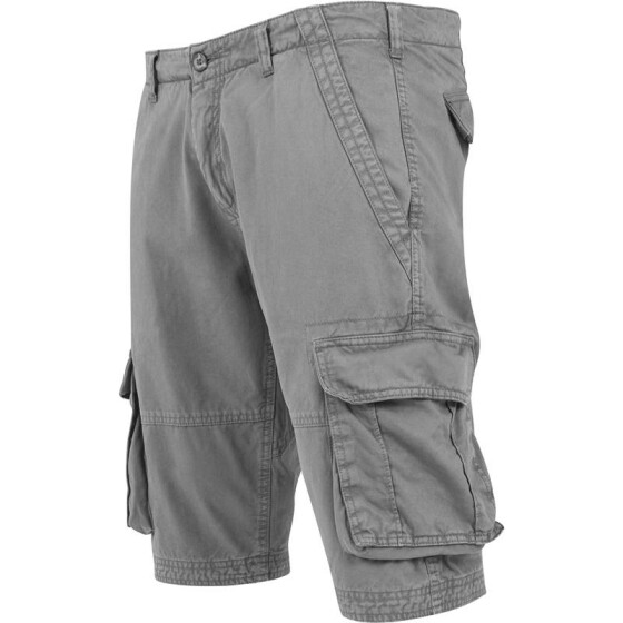 Urban Classics Fitted Cargo Shorts, darkgrey