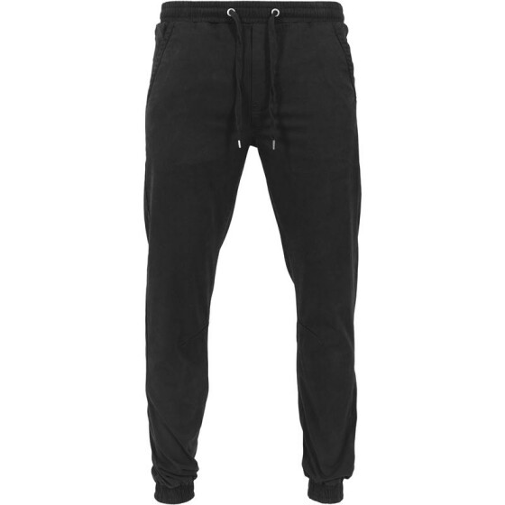 Urban Classics Stretch Twill Jogging Pants, black