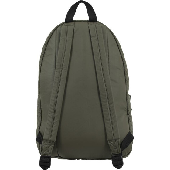 Urban Classics Diamond Quilt Leather Imitation Backpack, olive
