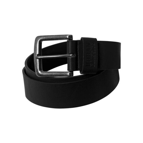 Urban Classics Leather Imitation Belt, black