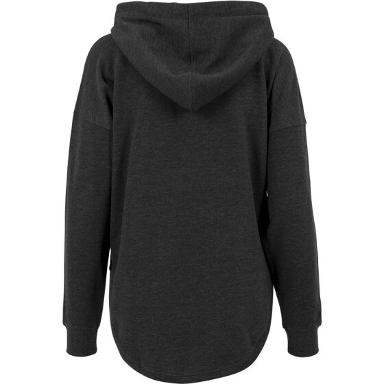 Urban Classics Ladies Oversized Terry Hoody, charcoal