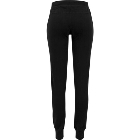 Urban Classics Ladies Fitted Athletic Pants, black