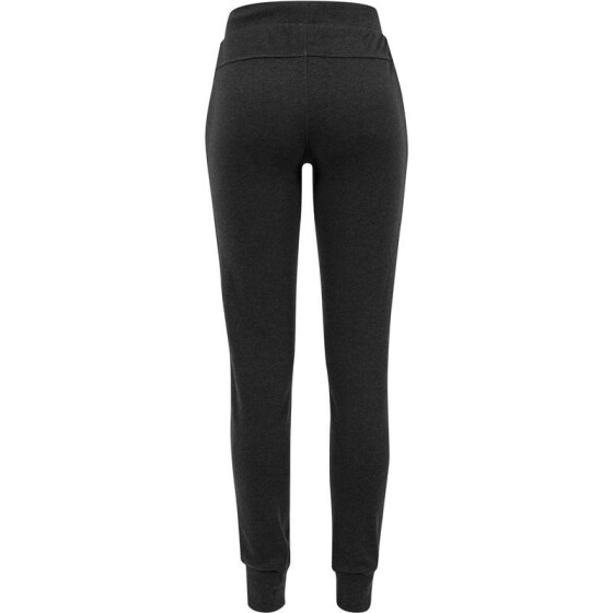 Urban Classics Ladies Fitted Athletic Pants, charcoal