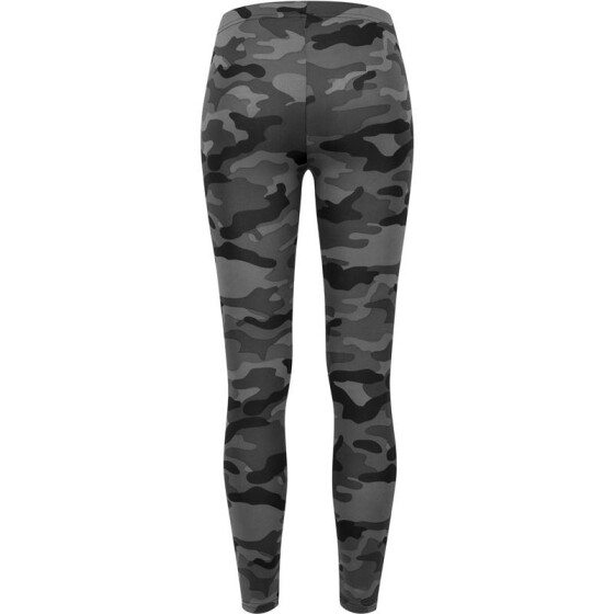 Urban Classics Ladies Camo Leggings, dark camo