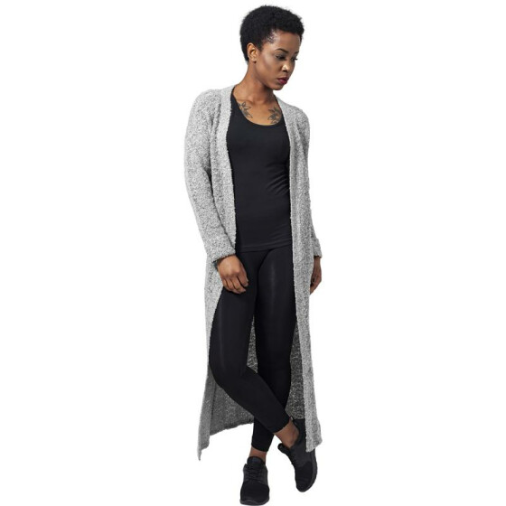 Urban Classics Ladies Boucle Cardigan, grey