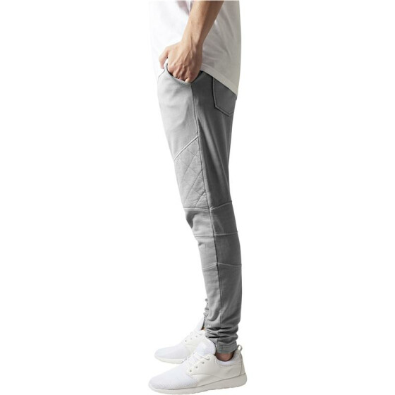 Urban Classics Diamond Stitched Pants, grey