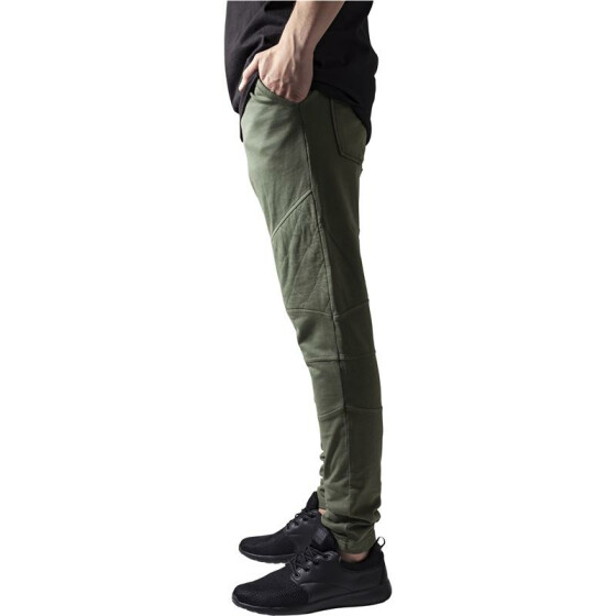Urban Classics Diamond Stitched Pants, olive