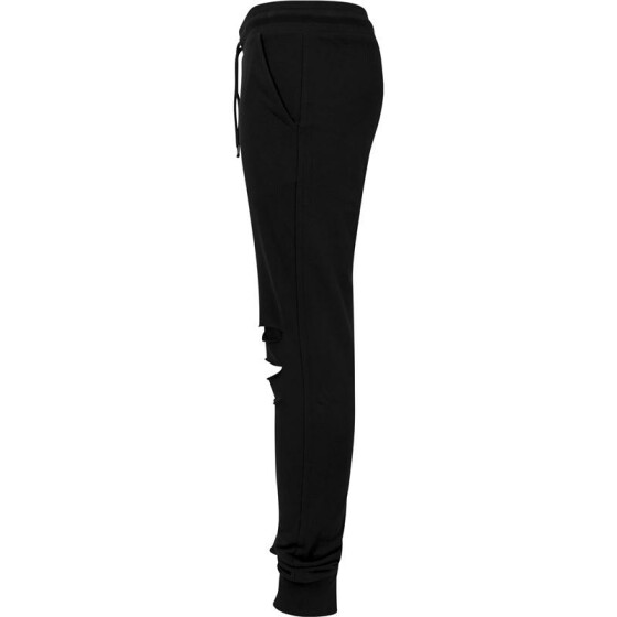 Urban Classics Cutted Terry Pants, black
