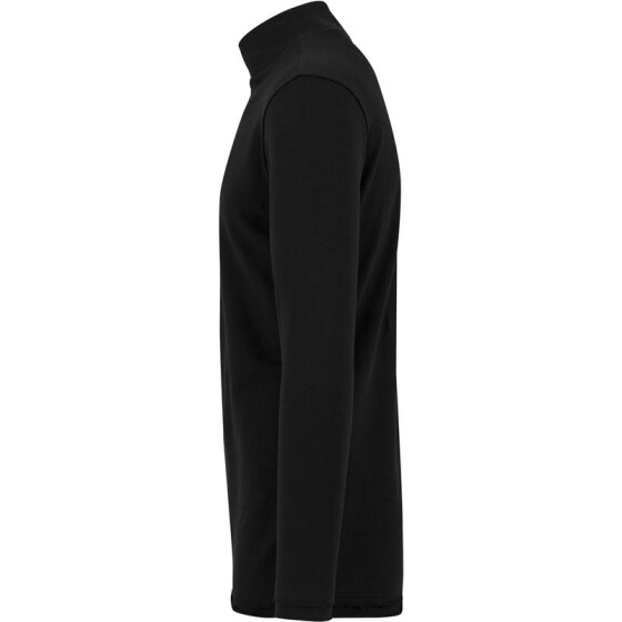 Urban Classics Long Open Edge Turtleneck Crew, black
