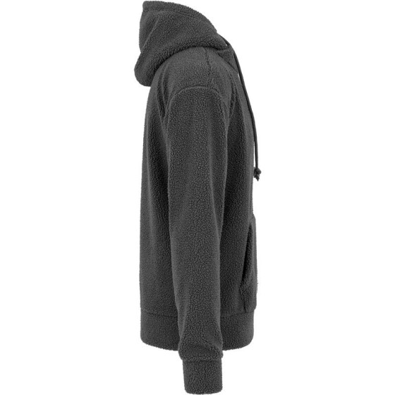 Urban Classics Sherpa High Neck Hoody, darkgrey