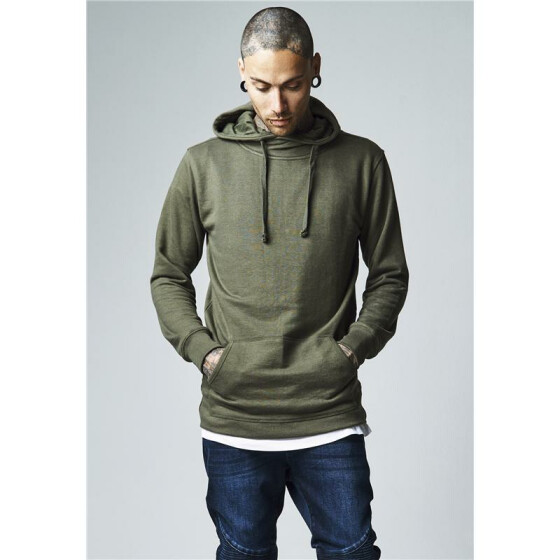 Urban Classics Loose Terry Long Hoody, olive
