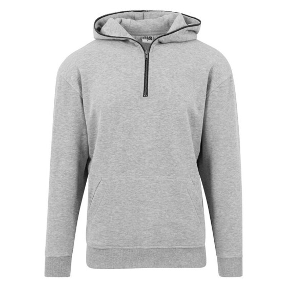 Urban Classics Sweat Troyer Hoody, grey