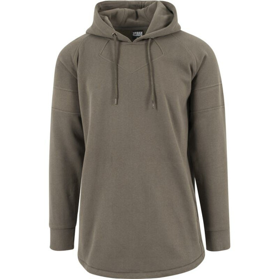 Urban Classics Long Shaped Hoody, olive