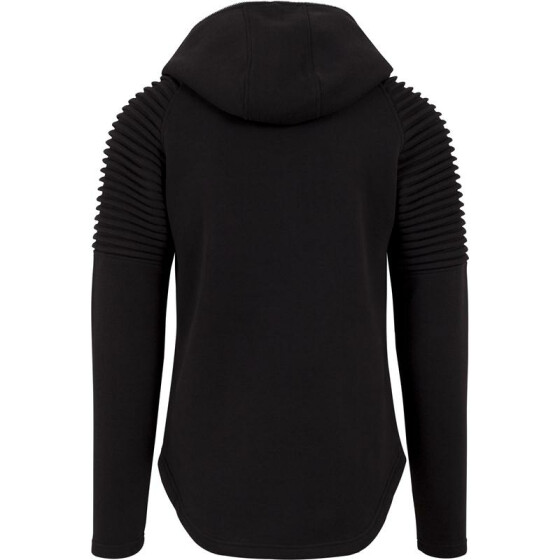 Urban Classics Pleat Sleeves Terry Hoody, black