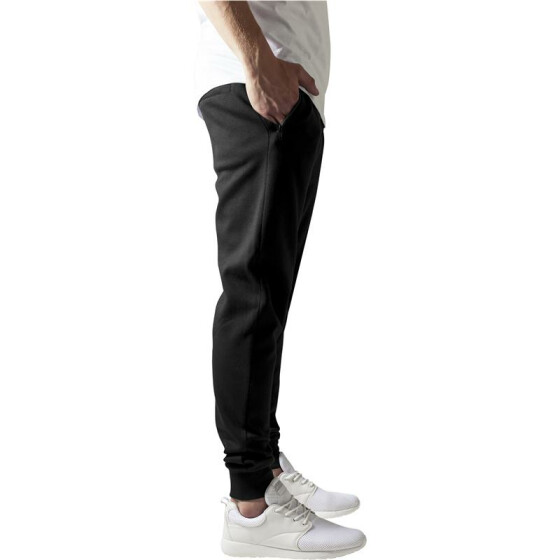 Urban Classics Athletic Interlock Sweatpants, black