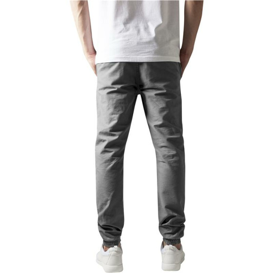 Urban Classics Washed Canvas Jogging Pants, grey