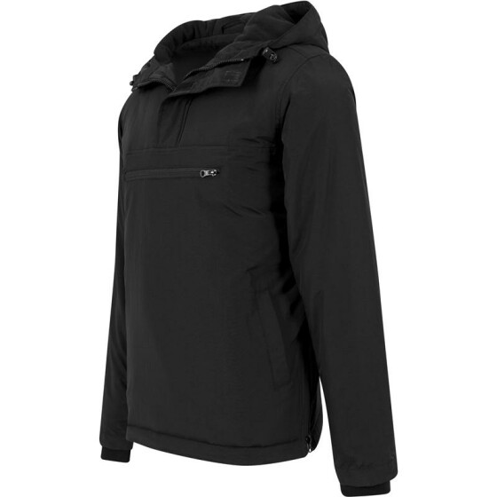 Urban Classics Padded Pull Over Jacket, black