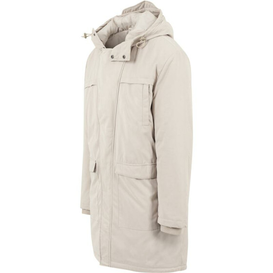 Urban Classics Cotton Peached Canvas Parka, sand