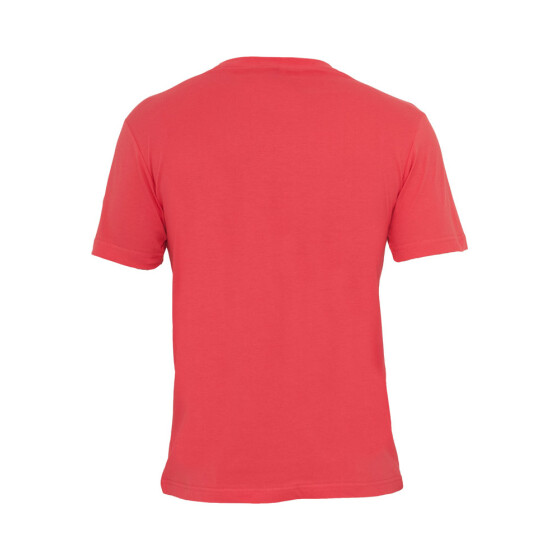 Urban Classics Basic V-Neck Tee, red