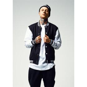 Urban Classics 2-tone College Sweatjacket, blk wht db9294d829