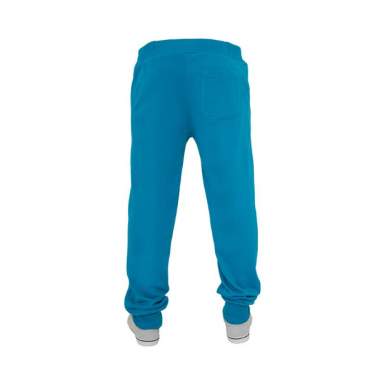 Urban Classics Straight Fit Sweatpants, turquoise