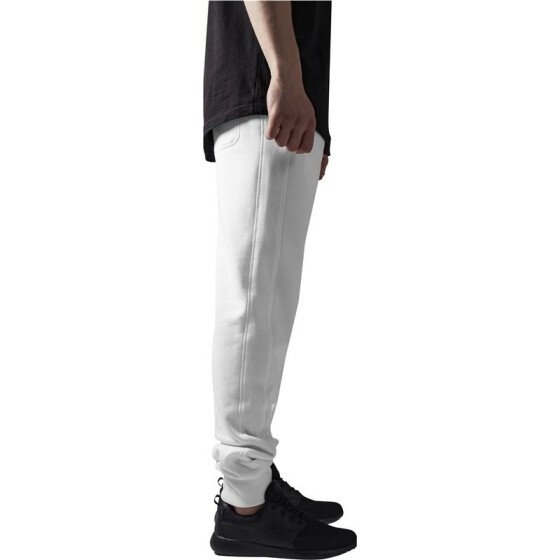 Urban Classics Straight Fit Sweatpants, white