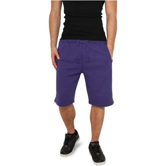 Urban Classics Light Fleece Sweatshorts, purple