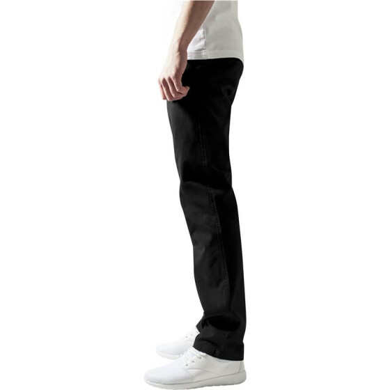 Urban Classics Chino Pants, black