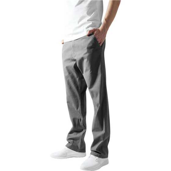 Urban Classics Chino Pants, darkgrey