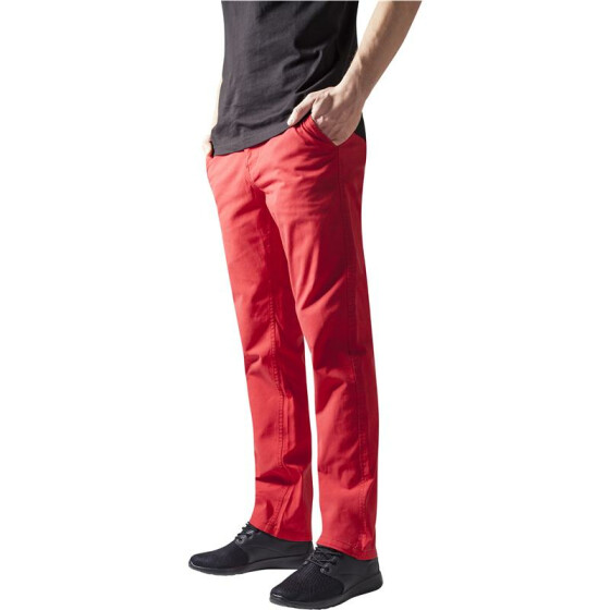 Urban Classics Chino Pants, red
