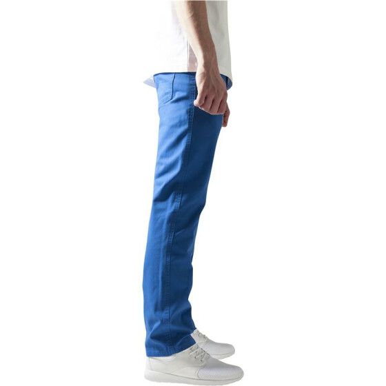 Urban Classics 5 Pocket Pants, blue