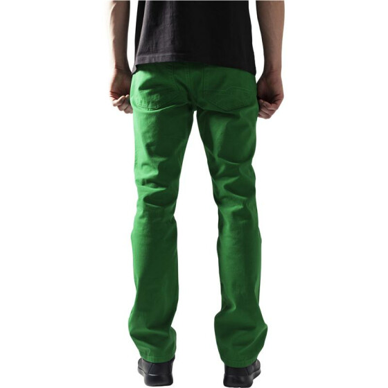 Urban Classics 5 Pocket Pants, c.green