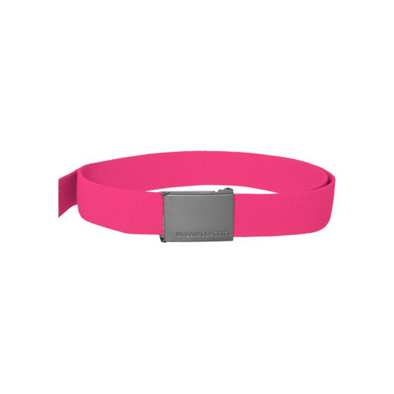 Urban Classics Canvas Belts, fuchsia