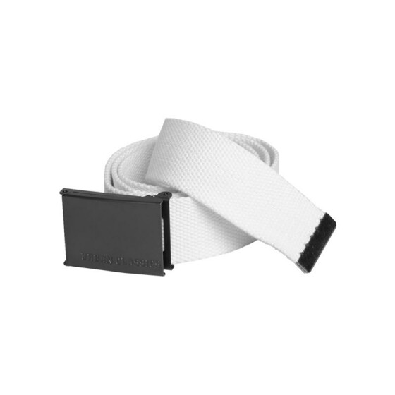 Urban Classics Canvas Belts, white
