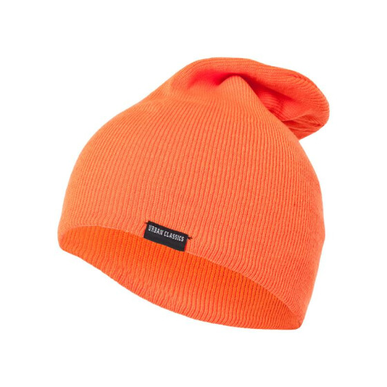 Urban Classics Neon Long Beanie, orange