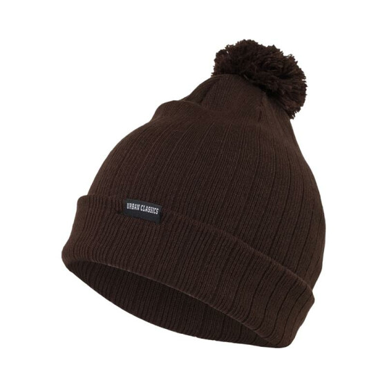 Urban Classics Bobble Beanie, brown