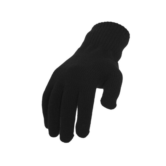 Urban Classics Knitted Gloves, black