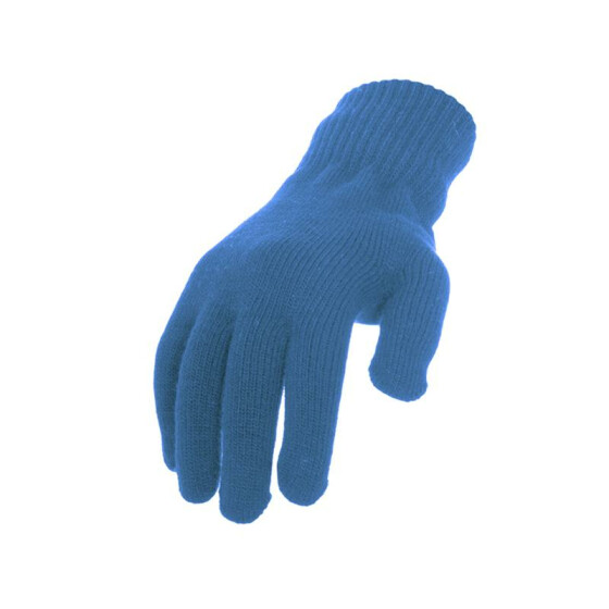 Urban Classics Knitted Gloves, turquoise