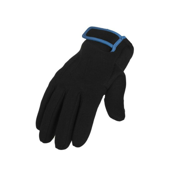 Urban Classics 2-tone Sweat Gloves, blk/tur