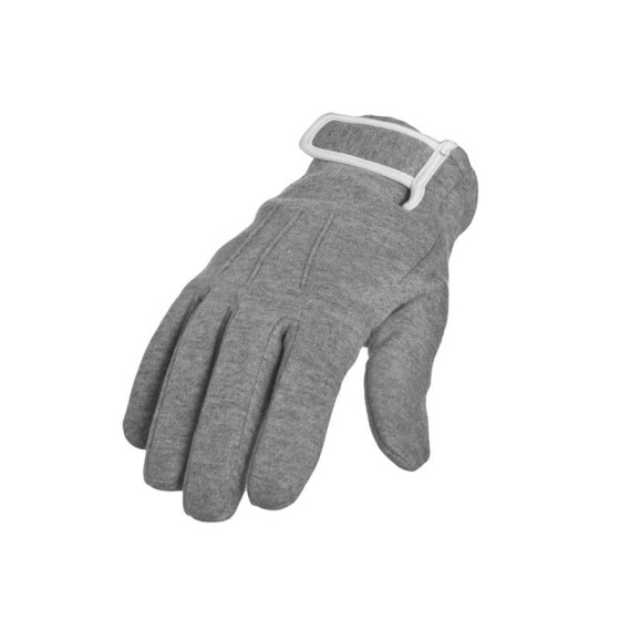 Urban Classics 2-tone Sweat Gloves, gry/wht