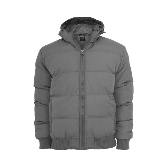 Urban Classics Hooded Bubble Blouson, dkgrey