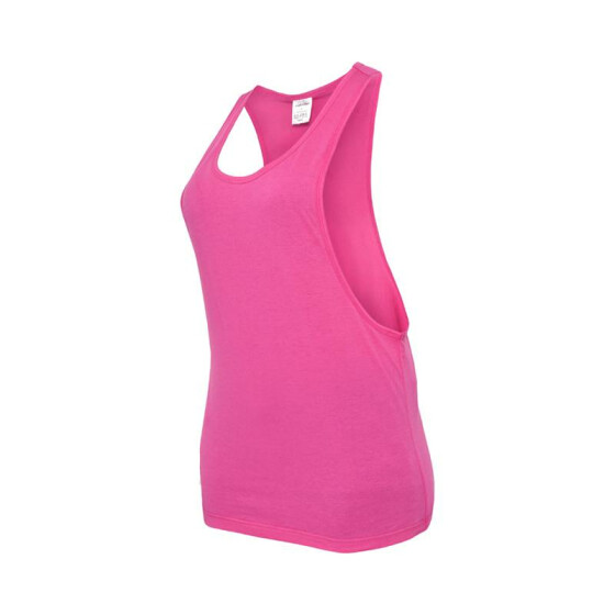Urban Classics Ladies Loose Tank, fuchsia