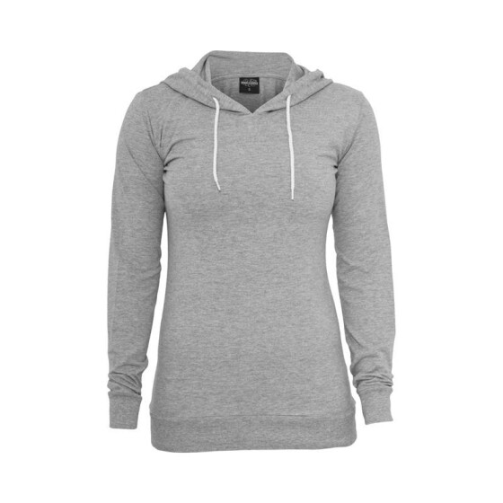 Urban Classics Ladies Jersey Hoody, grey