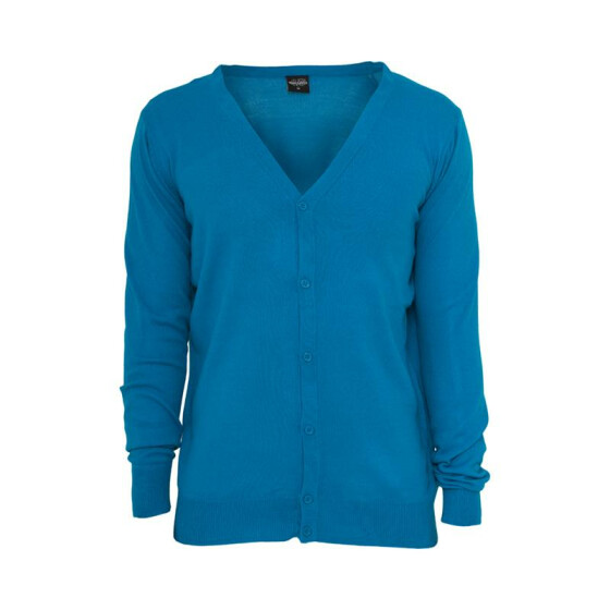 Urban Classics Knitted Cardigan, turquoise