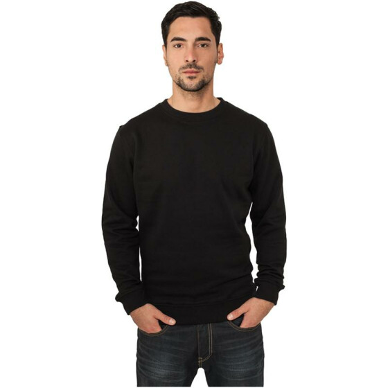 Urban Classics Crewneck Sweater, black