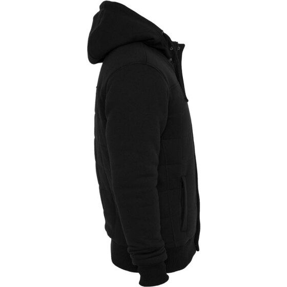 Urban Classics Sweat Winter Jacket, black